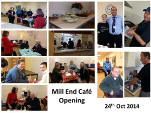 Mill End Cafe Opening