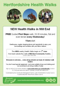 Mill End First Steps Join Us Launch HW A4 Poster May 2017